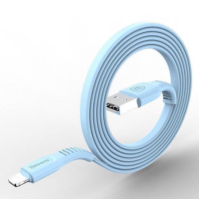 KB02 USB kabel pro apple zařízení s lightning konektorem, Bílá, 1m Bílá 1m