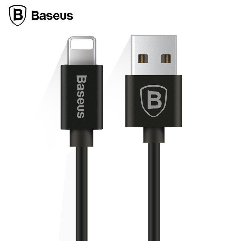 KB12 kroucený USB kabel s lightning konektorem, Černá, 1,6m