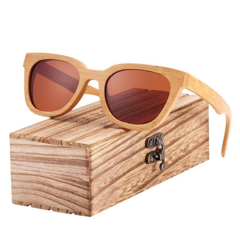 Dřeveněné brýle Shades BCR10 Stříbrná
