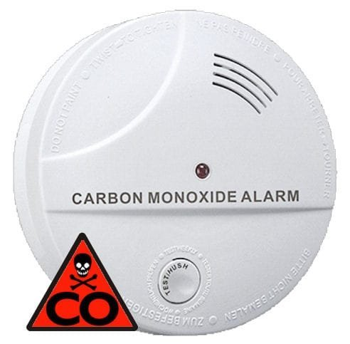 Hutermann ALARM Detektor oxidu uhelnatého s alarmem CO-04 EN50291