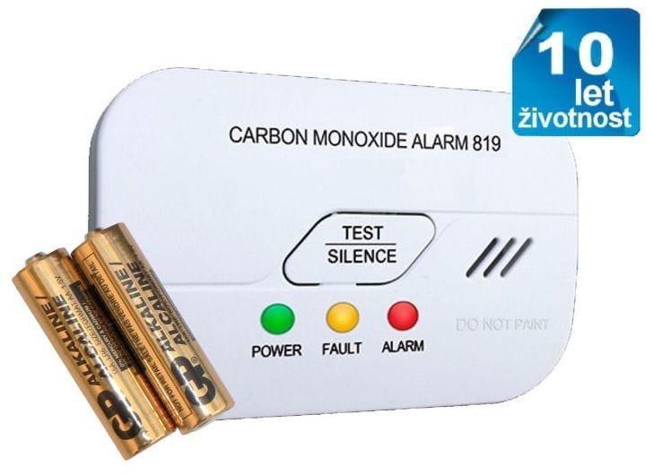 Detektor oxidu uhelnatého ALARM CO-86 EN50291