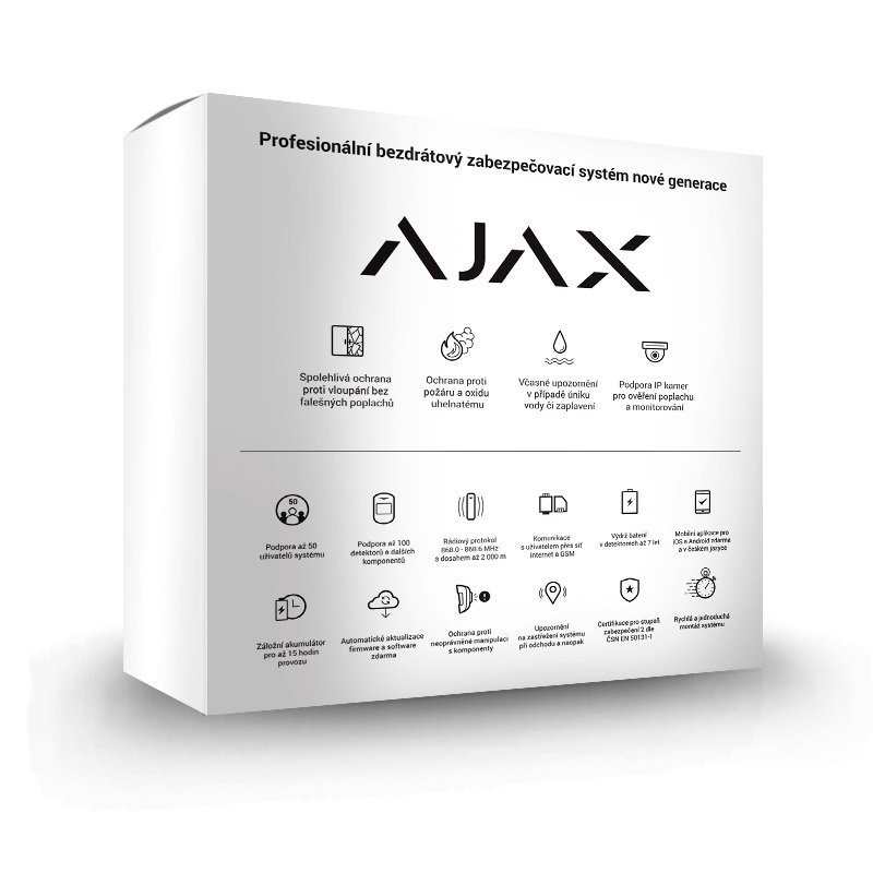 Alarm Ajax StarterKit Plus black 13538