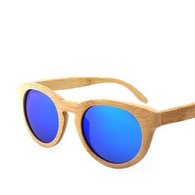 Dámské dřevěné sluneční brýle polarizované ZA02