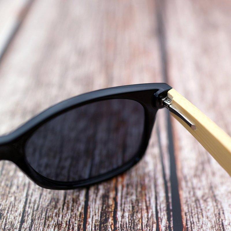 Pánské dřevěné sluneční brýle polarizované ZA04