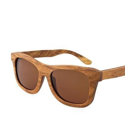 Pánské dřevěné sluneční brýle polarizované ZA06