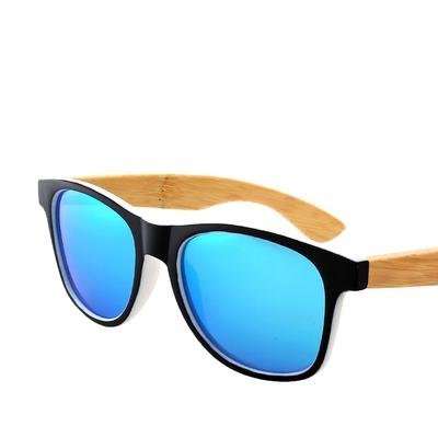 Pánské dřevěné sluneční brýle polarizované ZA08