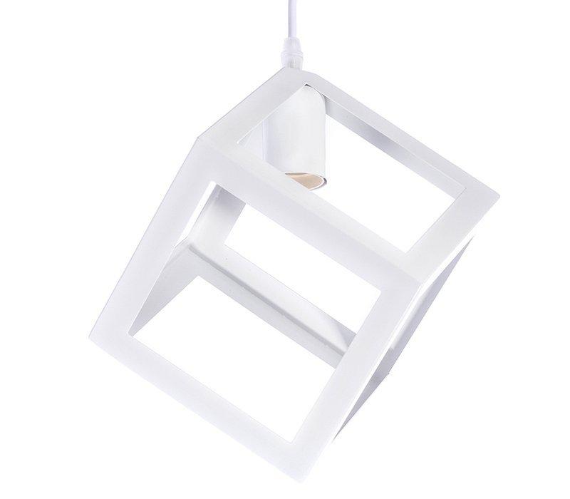 Závěsné svítidlo Industrial Loft E27 bílé