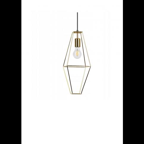 Závěsná lampa Diamond Rede - hnědá