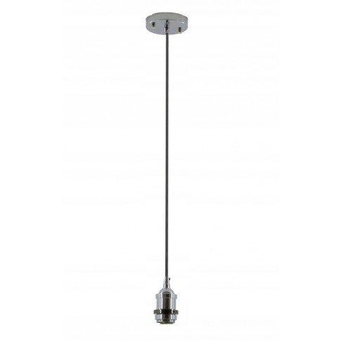 Závěsná lampa Převis Edison Loft - stříbrná