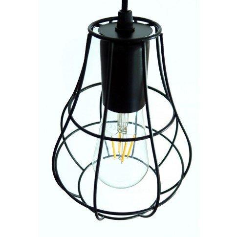 Drátěná závěsná lampa Satra