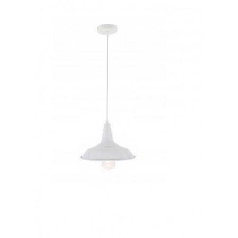 Závěsná stropní lampa Nordic Loft - bílá