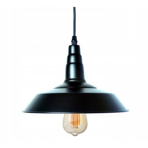 Závěsná stropní lampa Nordic Loft - černá