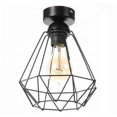 Závěsná stropní lampa Diamond Slim - černá