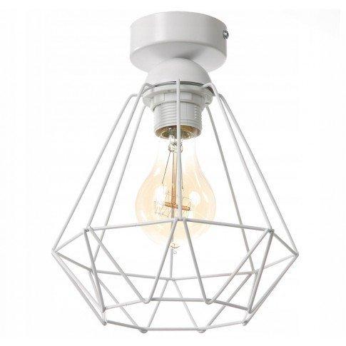 Závěsná stropní lampa Diamond Slim - bílá