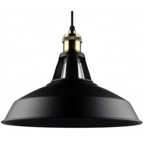 Závěsná lampa Retro Edison - černá