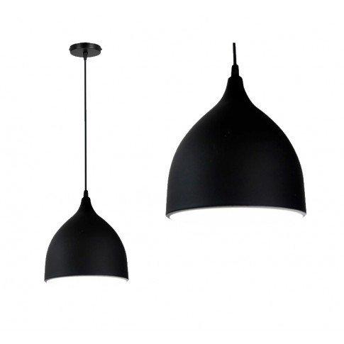 Závěsná lampa Manesa - černá