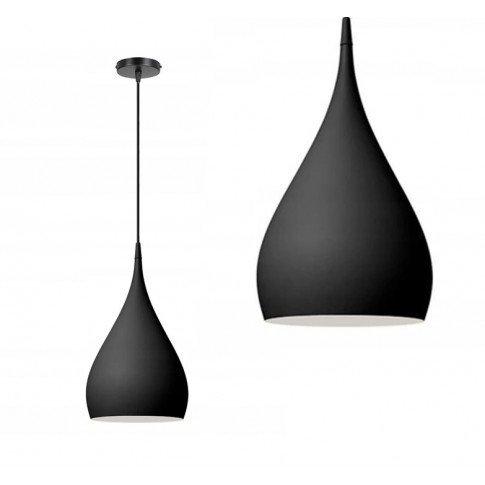 Závěsná lampa Matosa - černá