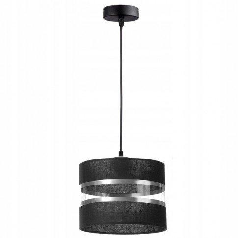 Závěsná lampa stínidla - černá