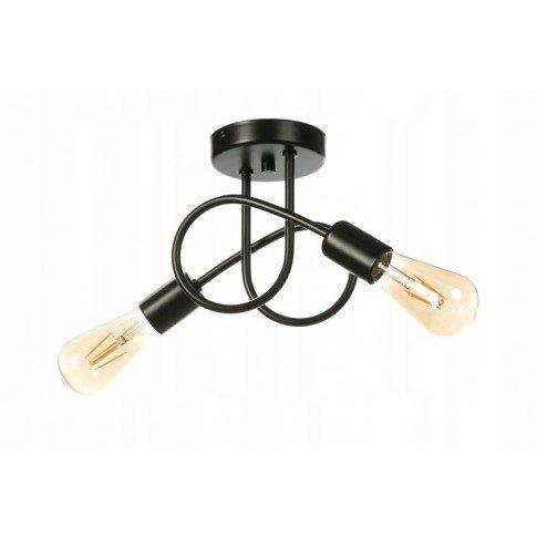 Závěsná lampa Edison Loft