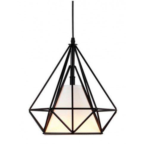 Závěsná lampa Diamond - černá