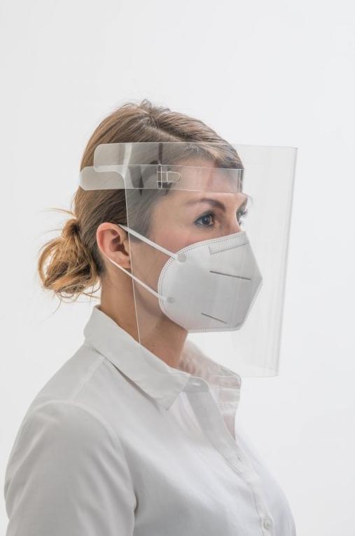 Ochranný obličejový štít - UNIVERZÁLNÍ