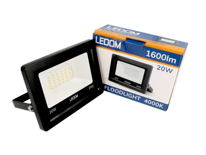 LEDOM LED reflektor 20W 1600lm denní