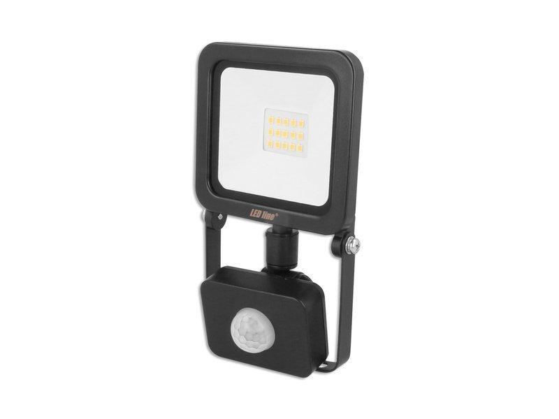 LED Line LED reflektor 10W PHOTON 800lm denní s PIR čidlem