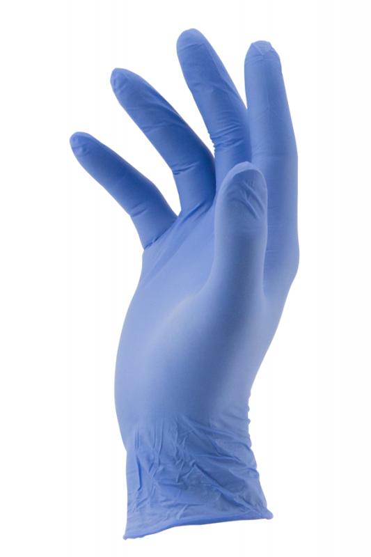 Latexové ochranné rukavice - velikost M 100 ks