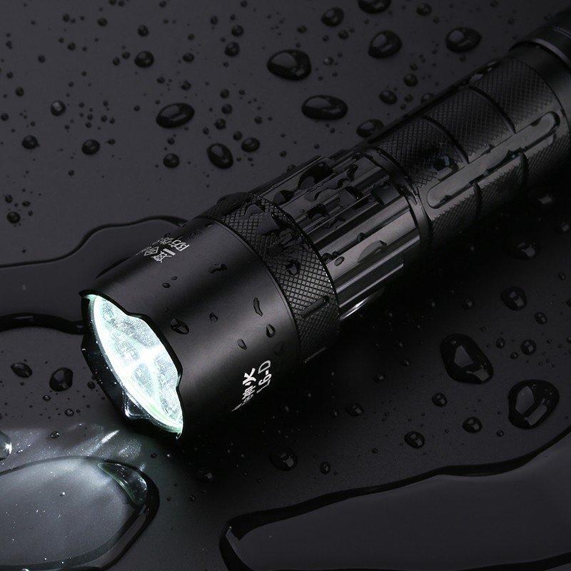 Supfire L6-D LED nabíjecí svítilna T50B 800lm, USB, Li-ion
