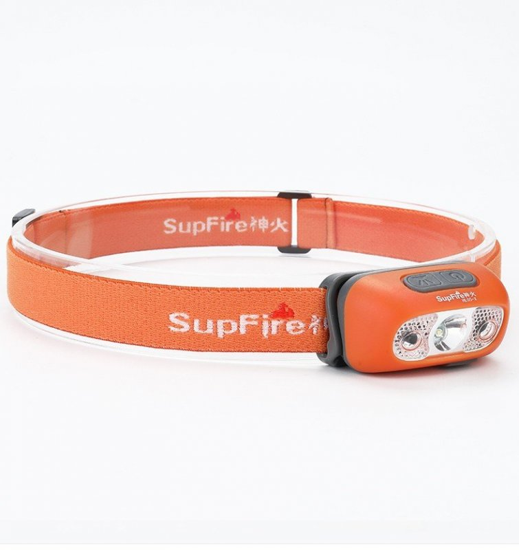 Supfire HL05-C LED čelovka Jing Rui XD LED 100lm, USB, Li-ion