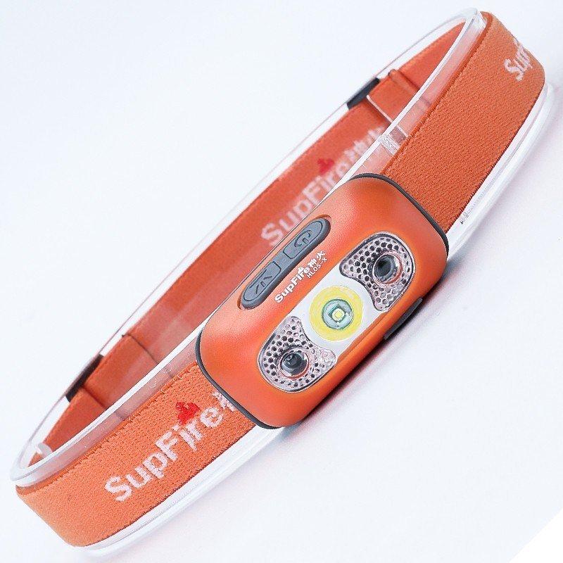 Supfire HL05-X LED čelovka JINGRUI XD-3535 120 lm, USB, Li-ion