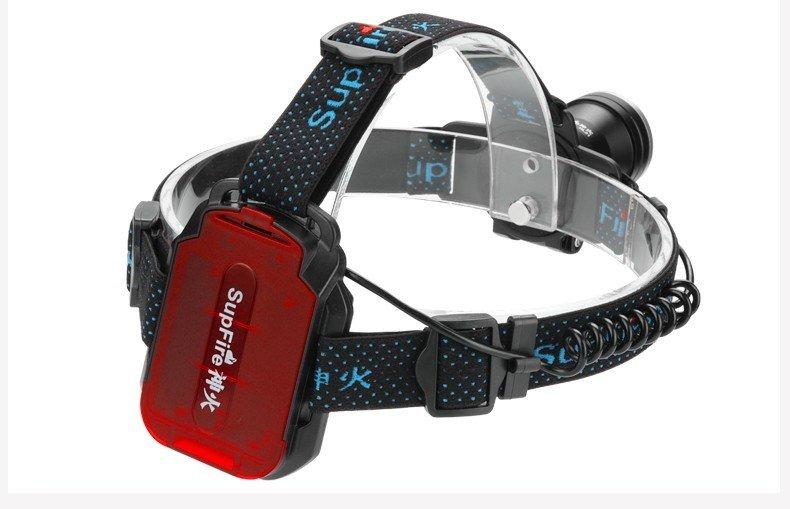 Supfire HL21 LED čelovka Cree XPG LED 800lm, 3xAAA baterie