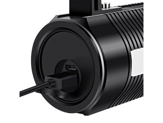 Supfire GF03 LED svítilna na ryby JIGNRUI XK LED 300lm, USB, Li-ion až 750 minut výdrž