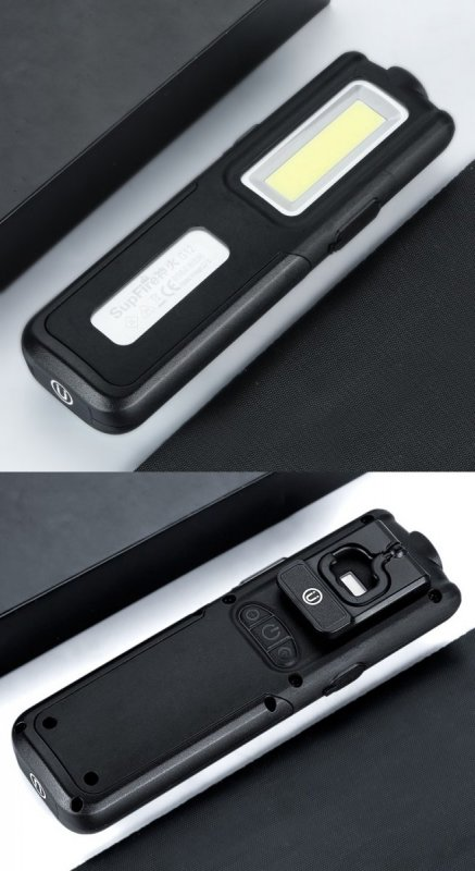 Supfire LED pracovní svítilna CREE XPG LED 288lm, USB, Li-ion