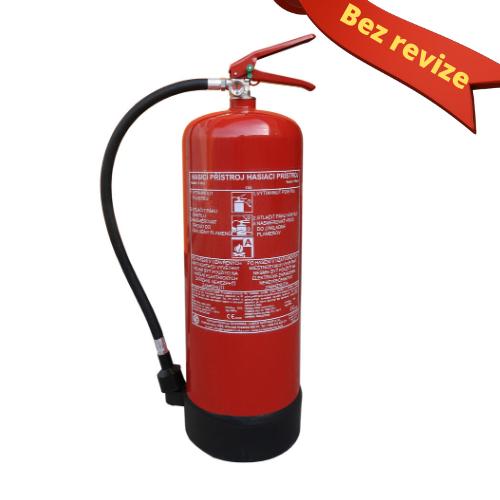 Vodní hasicí přístroj 9l s kontrolou (13A) - BEZ REVIZE