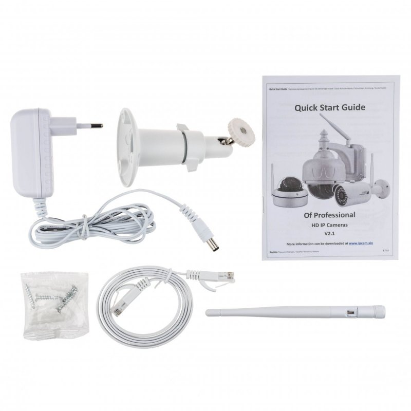 Venkovní WiFi IP kamera Secutek SBS-B25W