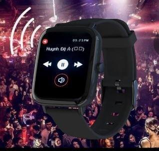 Chytré sportovní hodinky GT168 - černé