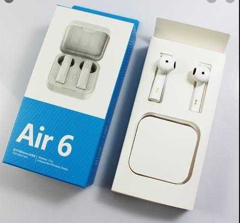Bezdrátová sluchátka s nabíjením Air 6