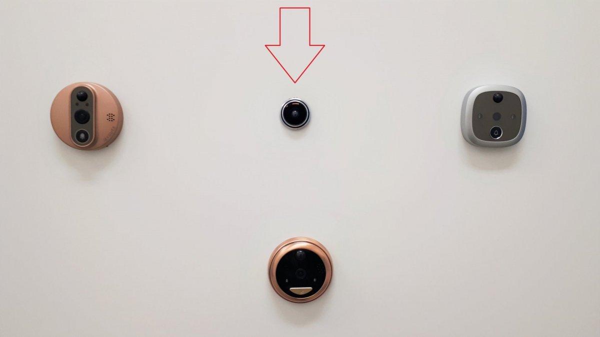 WiFi dveřní kukátko Secutek SKI-DF2MP178