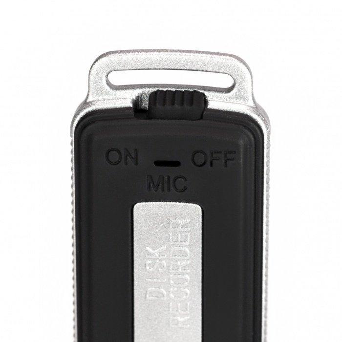 Flash disk s diktafonem a dlouhou výdrží Secutek UR-08