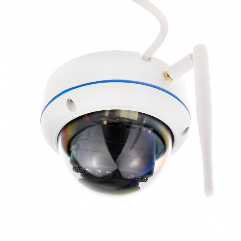 5MP P2P IP dome kamera Secutek SBS-B49WPOE
