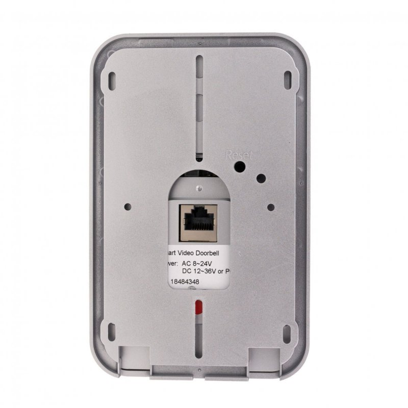 WiFi IP videozvonek Secutek DBV02P s RFID čtečkou + 433MHz zvonek