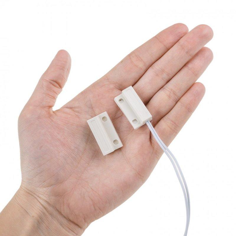 Magnetický dveřní senzor k alarmům Secutek SWD