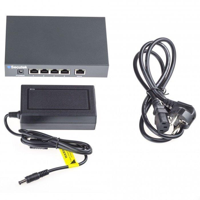 PoE switch Secutek SLG-RT411 - 5 port
