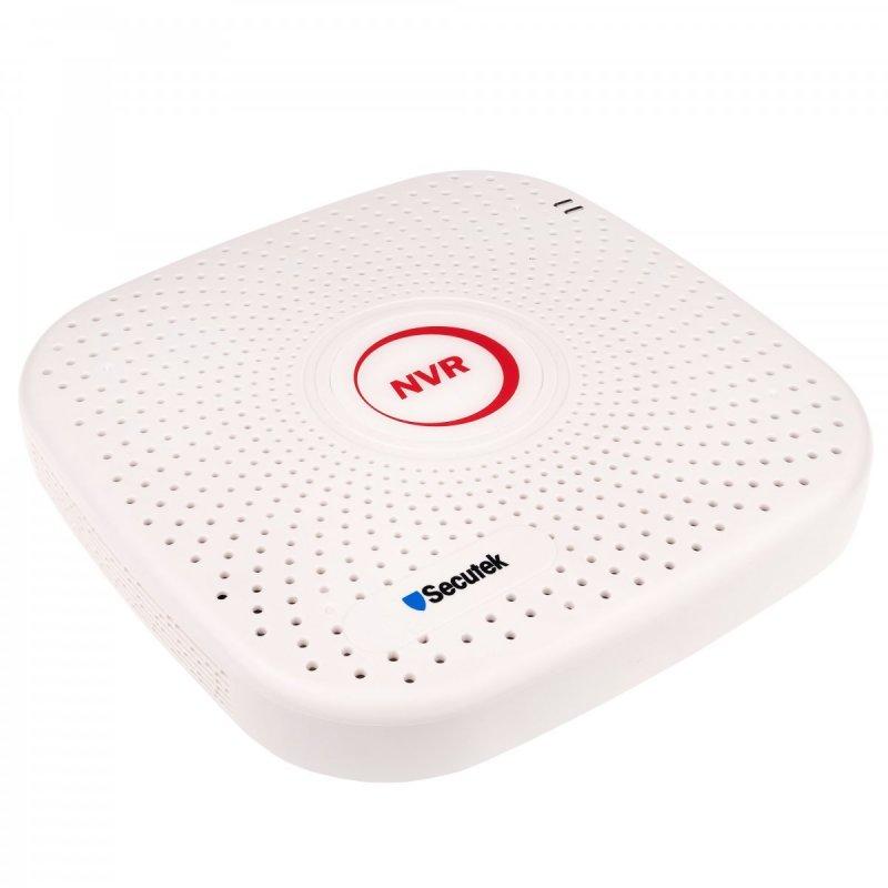 9CH Smart NVR rekordér Secutek SLG-NVR3609PG 5mp, H.265+