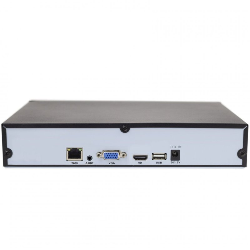 16CH Smart NVR rekordér Secutek SLG-NVR3616D - 1944p, H.265