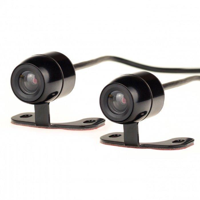 2 kanálová minikamera a rekordér do auta či motocyklu Secutek C6