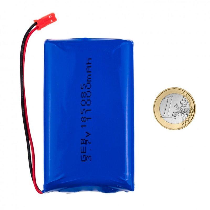 3.7V 11000mAh dobíjecí lithiová baterie
