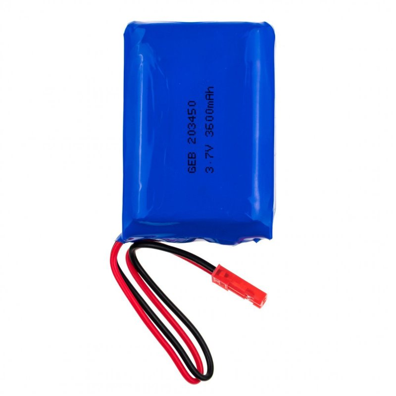 3.7V 3600mAh dobíjecí lithiová baterie