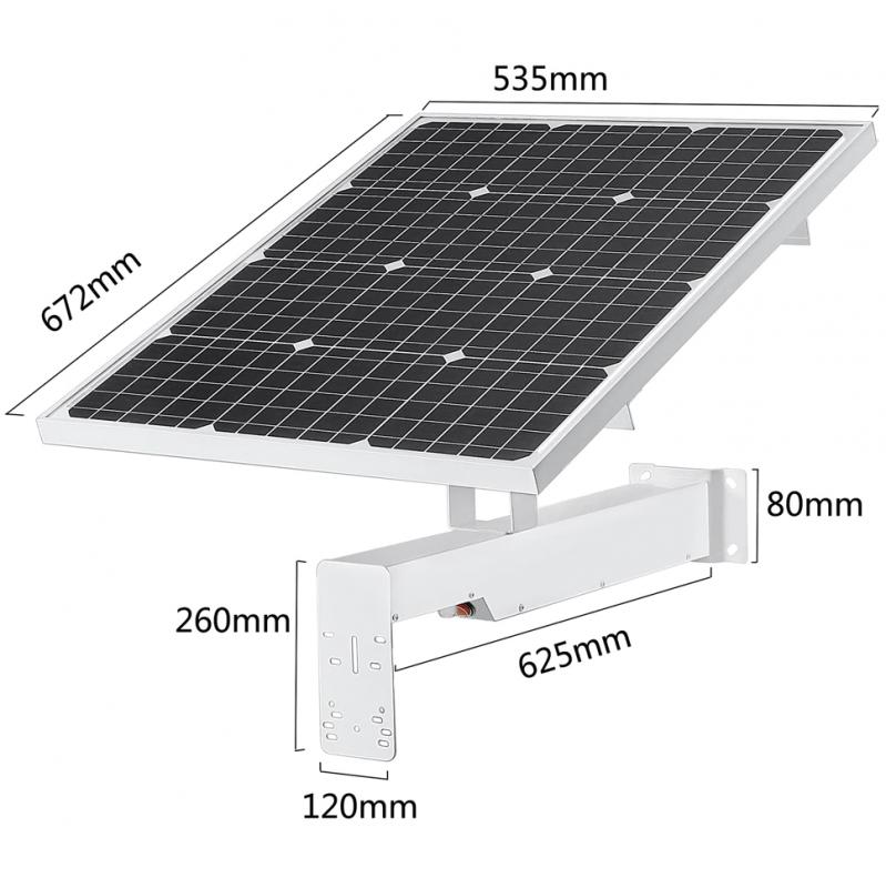 60W / 40A Solární zdroj Secutek SBS-S60W40A